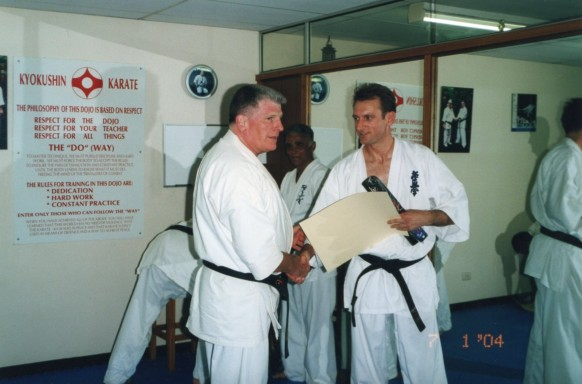 Hanshi Howard & Shihan Peter Olive