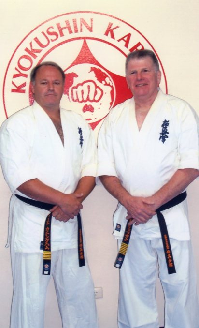 Shihan Rick Cunningham & Hanshi Howard Lipman