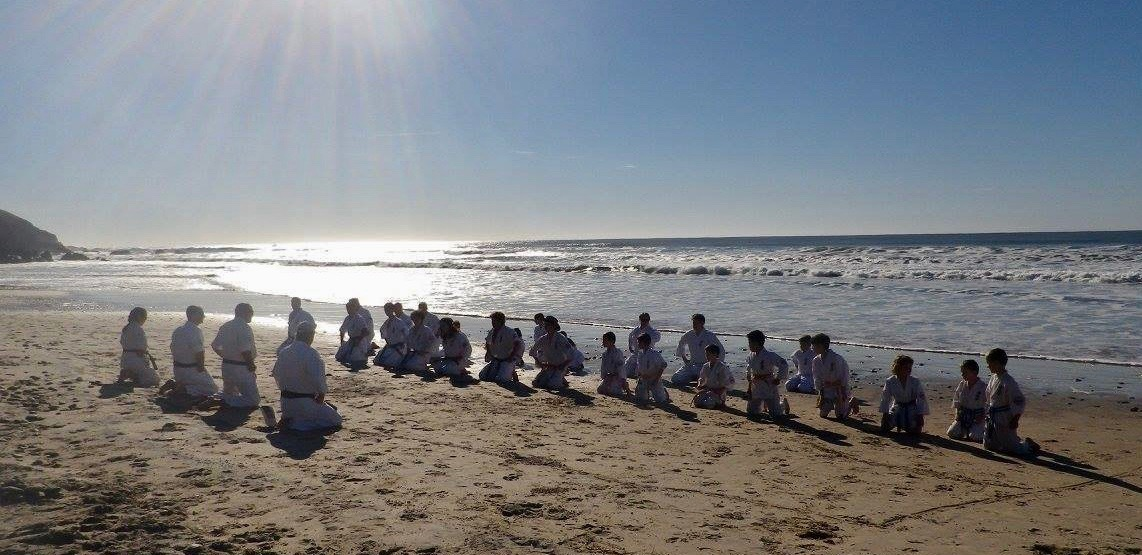 Kyokushin Beach Grading – June 25, 2017