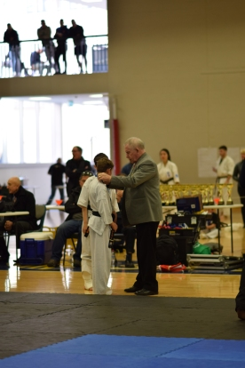 Awarded by Hanshi John Taylor