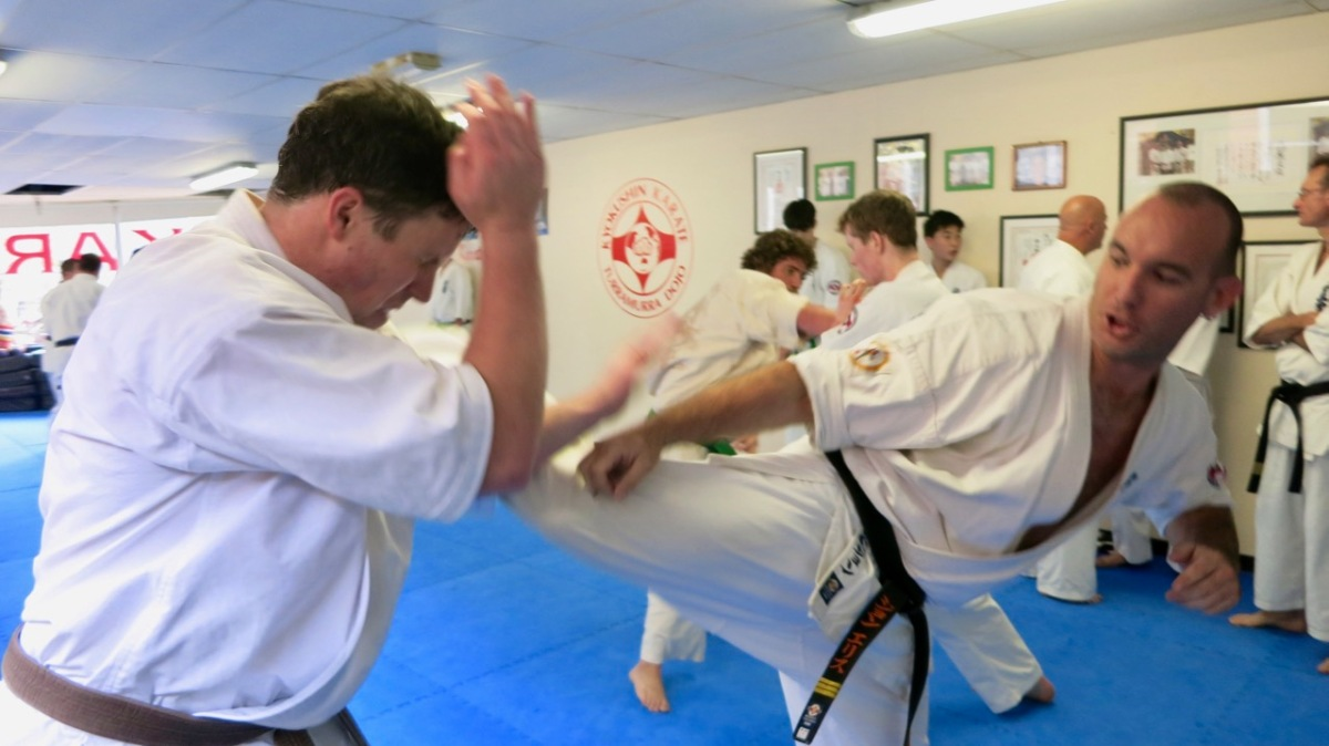 Senior Kyokushin Grading – August 12, 2017