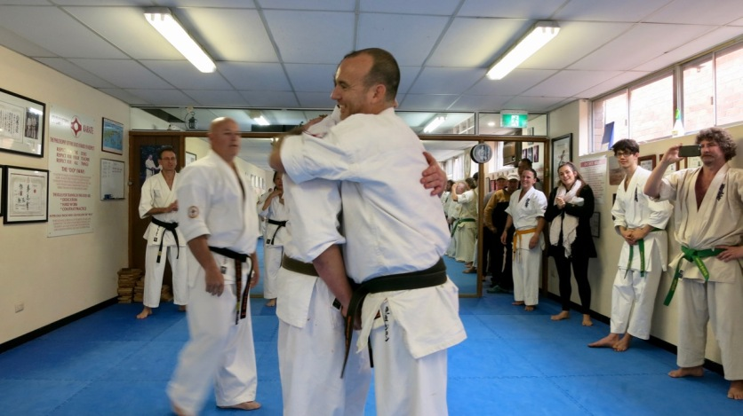Will Brook finishes his 40th fight with his instructor Sensei Jon Ellis