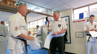 Shihan Rick surprises Shihan Howard