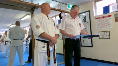 Hanshi Howard Lipman - 9th Dan Kyokushin