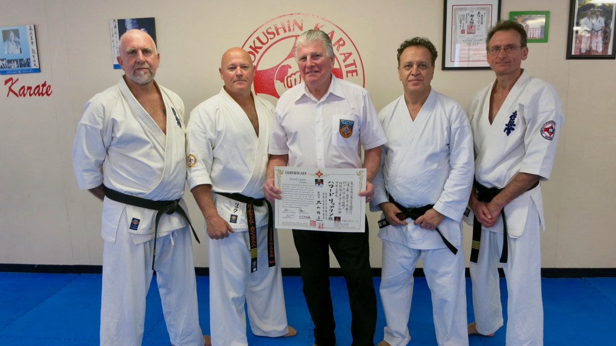 Hanshi Howard Lipman: 9th Dan – August 12, 2017