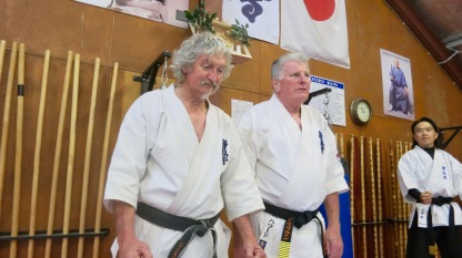Sensei David & Hanshi Howard