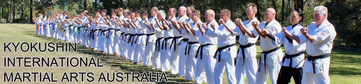 Kyokushin International Martial Arts Australia