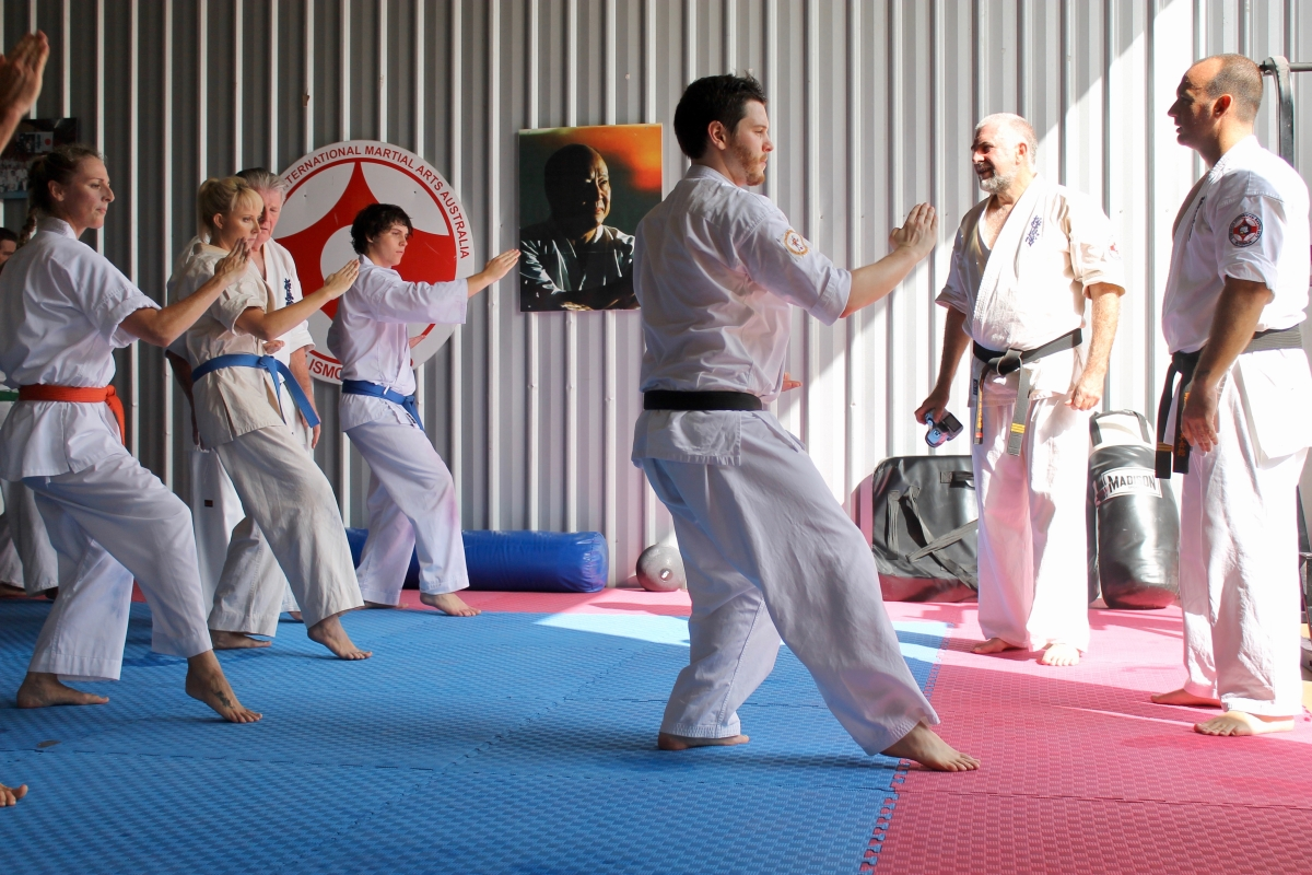 The Role of Teaching in the Development of a Martial Artist