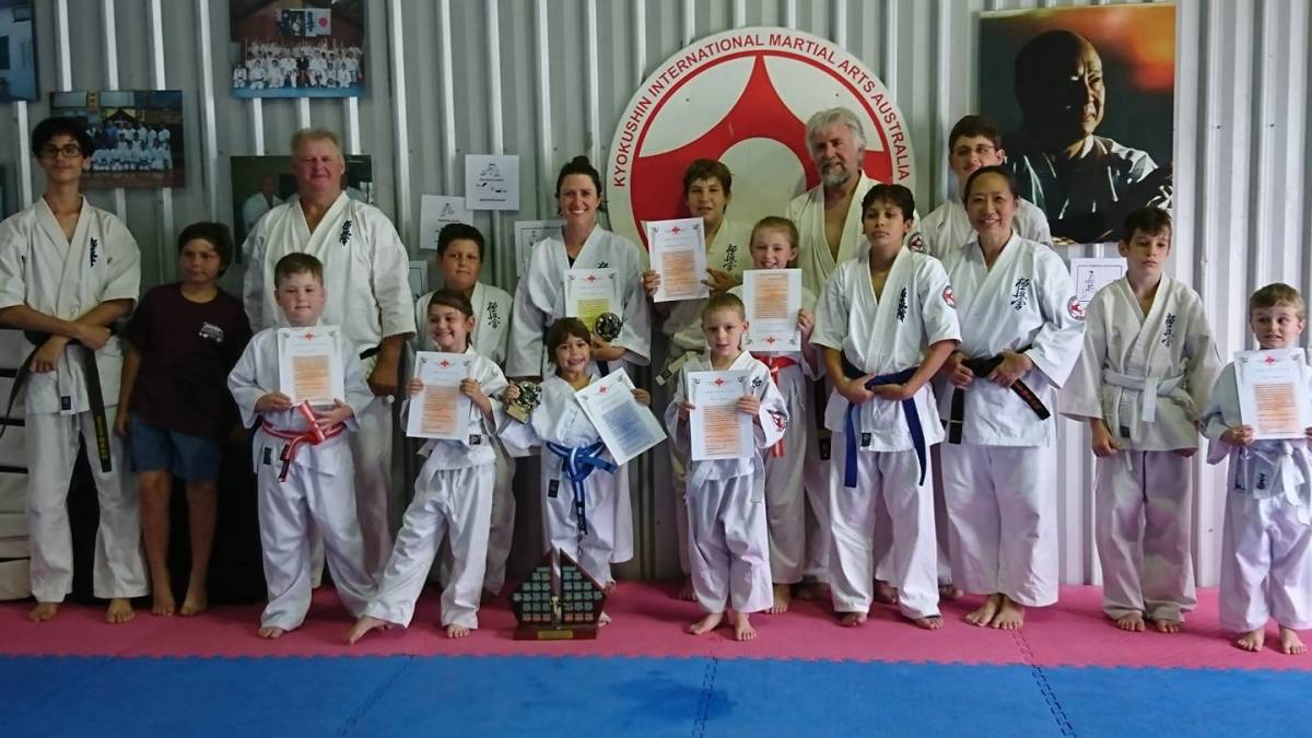 North Coast Karate Grading – December 16, 2018
