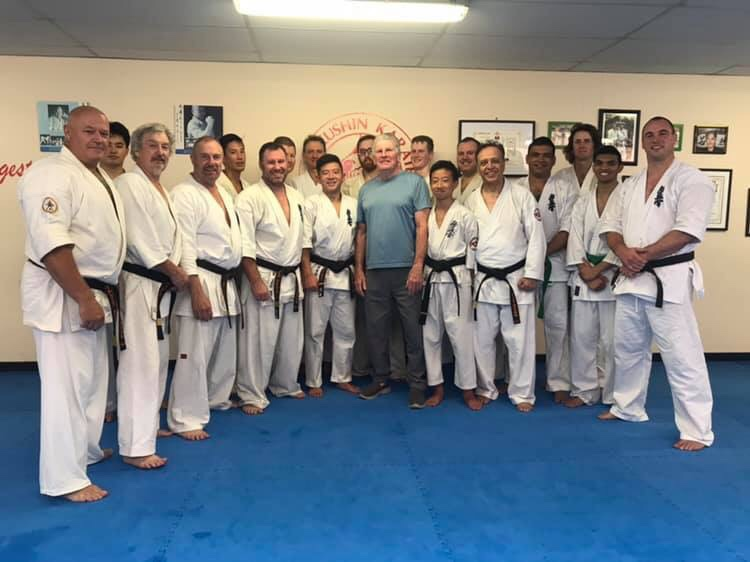 Sydney Yudansha Training – February 23,2019